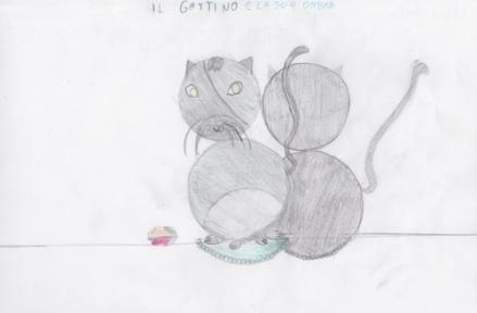 Il gatto e la sua ombra